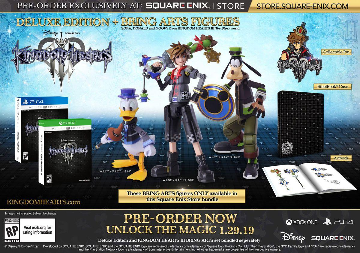 Square Enix - Kingdom Hearts 3 deluxe