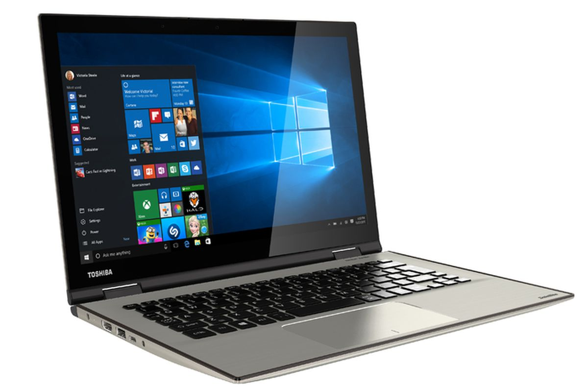 Toshiba's Satellite Radius 12 combines a 4K display with a ...