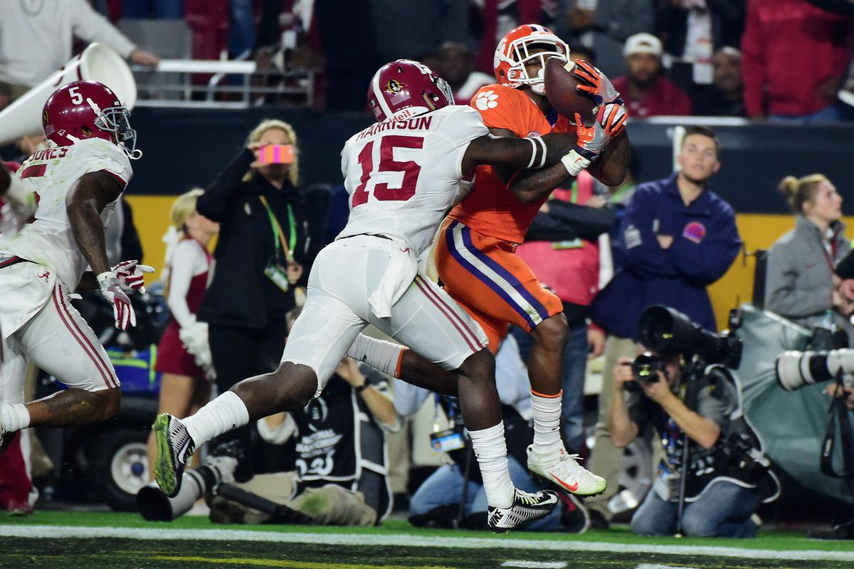 Ronnie Harrison is one of a trio of Tide defenders expected to have a break-out season in '16.