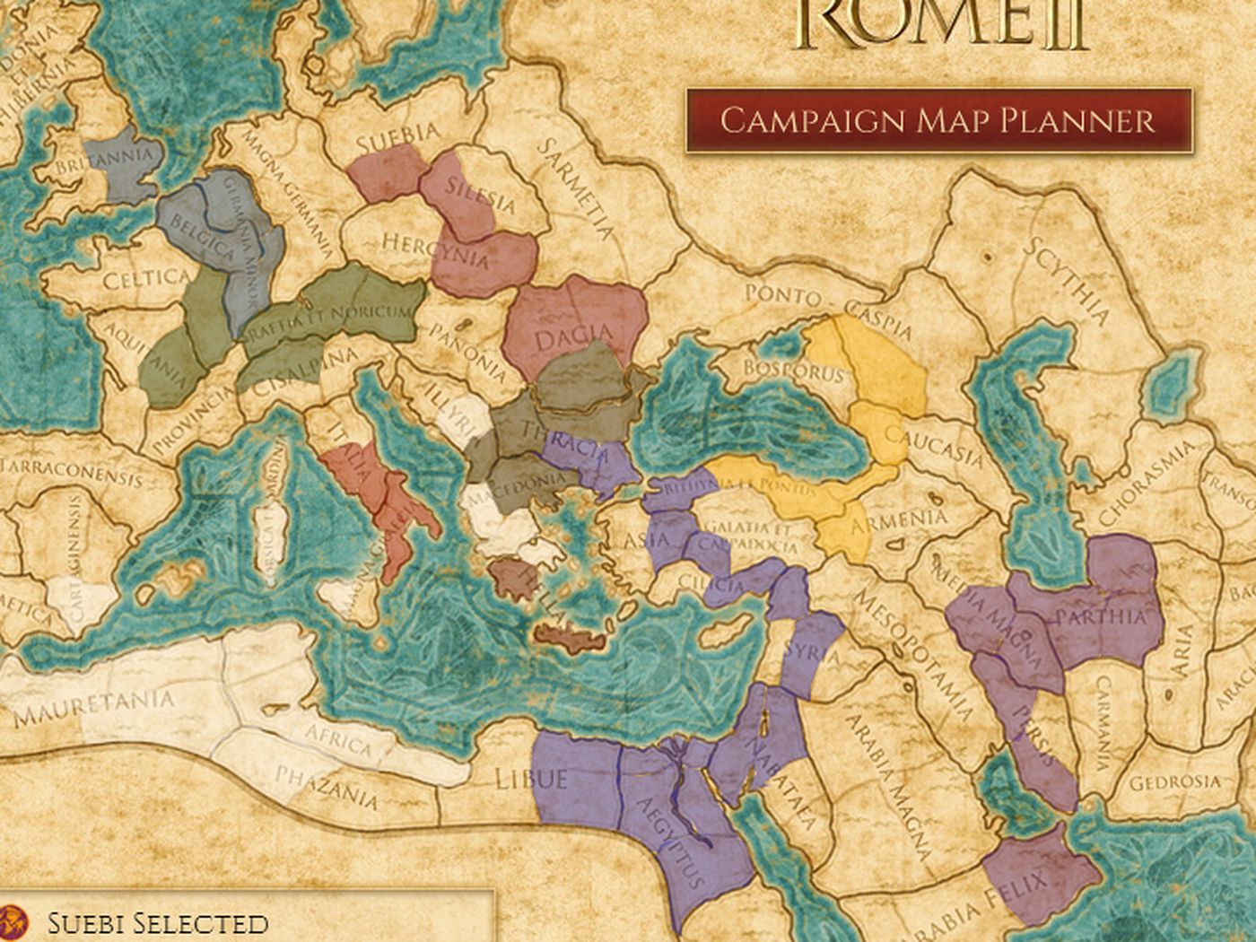 Plan your conquest with Total War: Rome 2 interactive map - Polygon