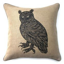 """<span class=""""credit""""><b>Patch NYC</b> Owl Pillow, <a href=""""http://www.patchnyc.com/products/owl-pillow-cp2-o"""">$120</a></span><p>"""