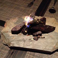 Sitting around a campfire ...