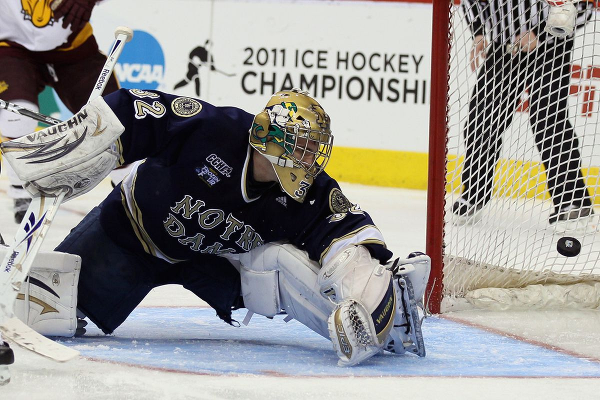 Notre Dame sits in first place in the CCHA after being the only team to sweep in the league's opening weekend.