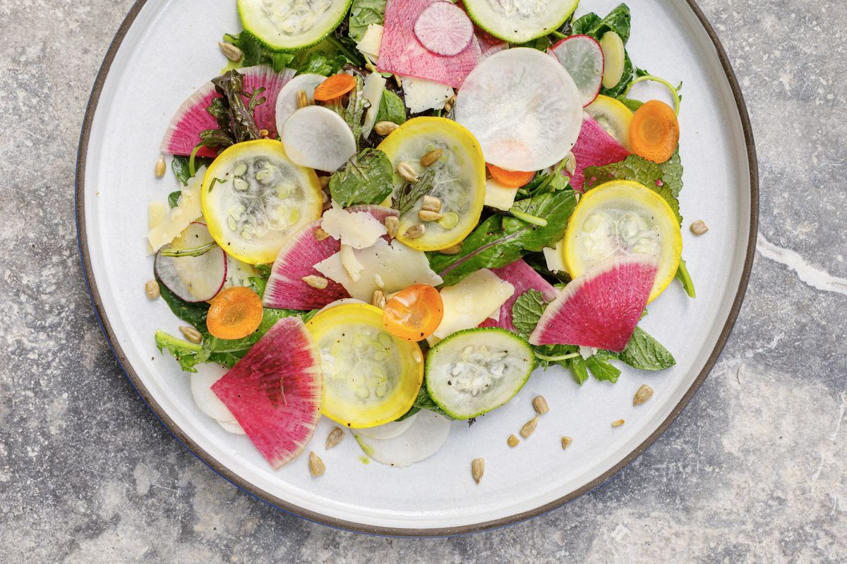 A colorful salad from Electric Lemon