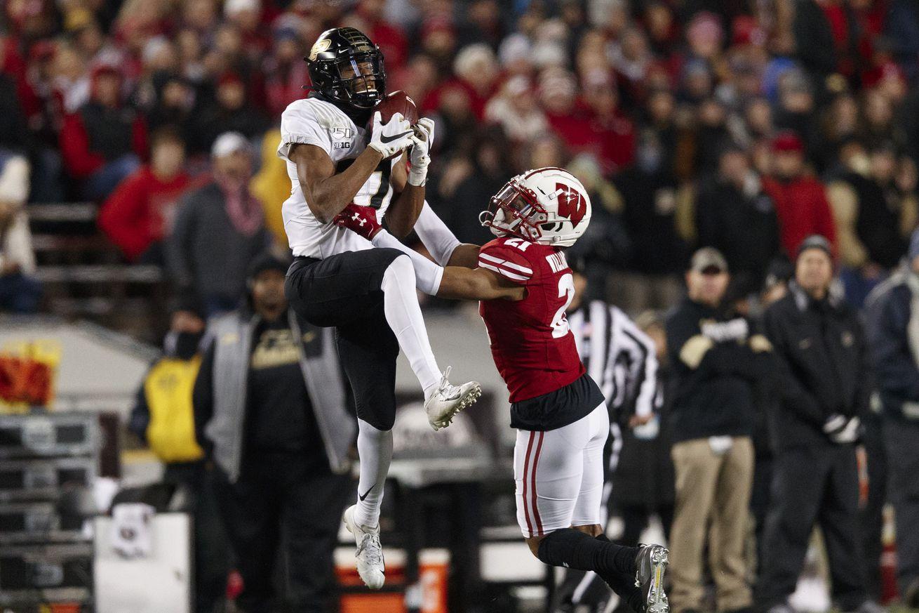 NCAA Football: Purdue at Wisconsin