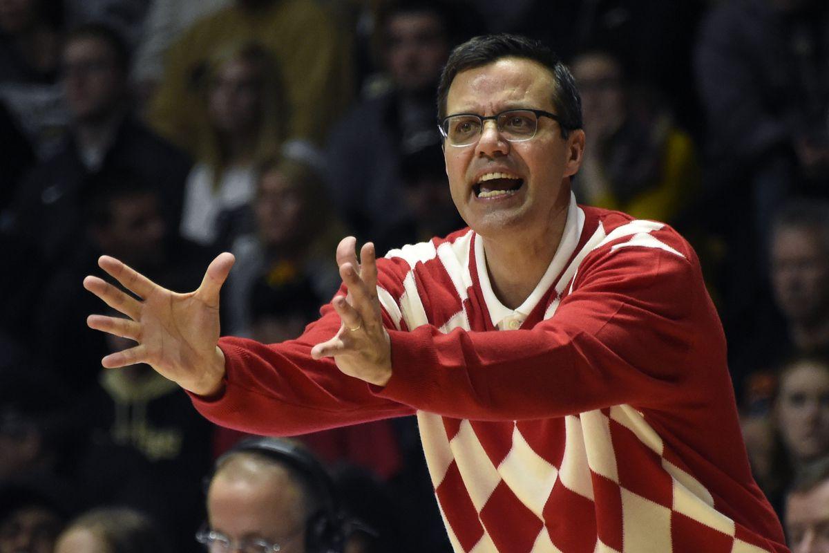 Illest basektball coach in an argyle sweater