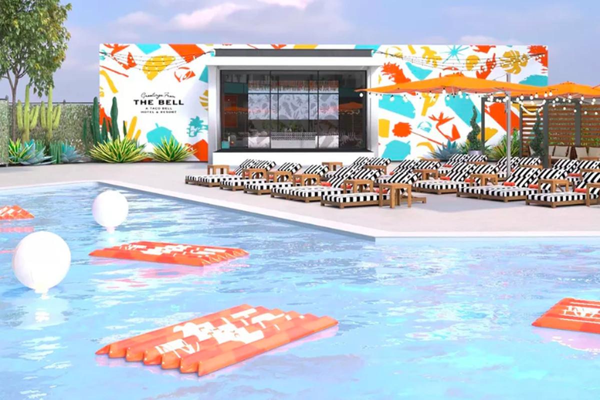 Taco Bell pop-up hotel