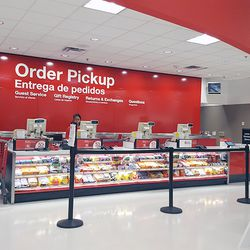 Formerly named Guest Services, the customer support area now caters to online shoppers who just need to pop in to pick up their goods. (We live by Target.com's in-store pickup.)