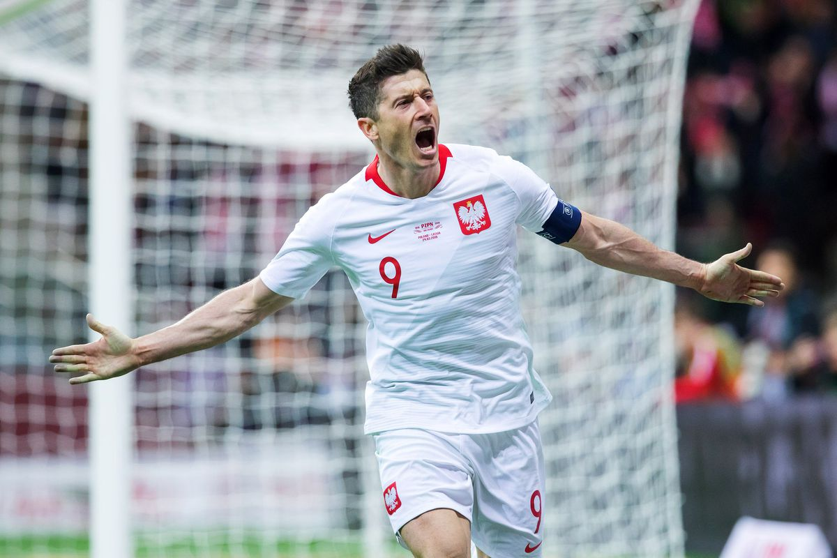 new photos 6524a 2dfea Watch: Robert Lewandowski scores for Poland in 2-0 win over ...