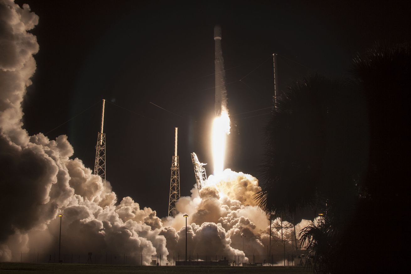 spacex launched the mysterious zuma satellite and successfully landed its rocket afterward
