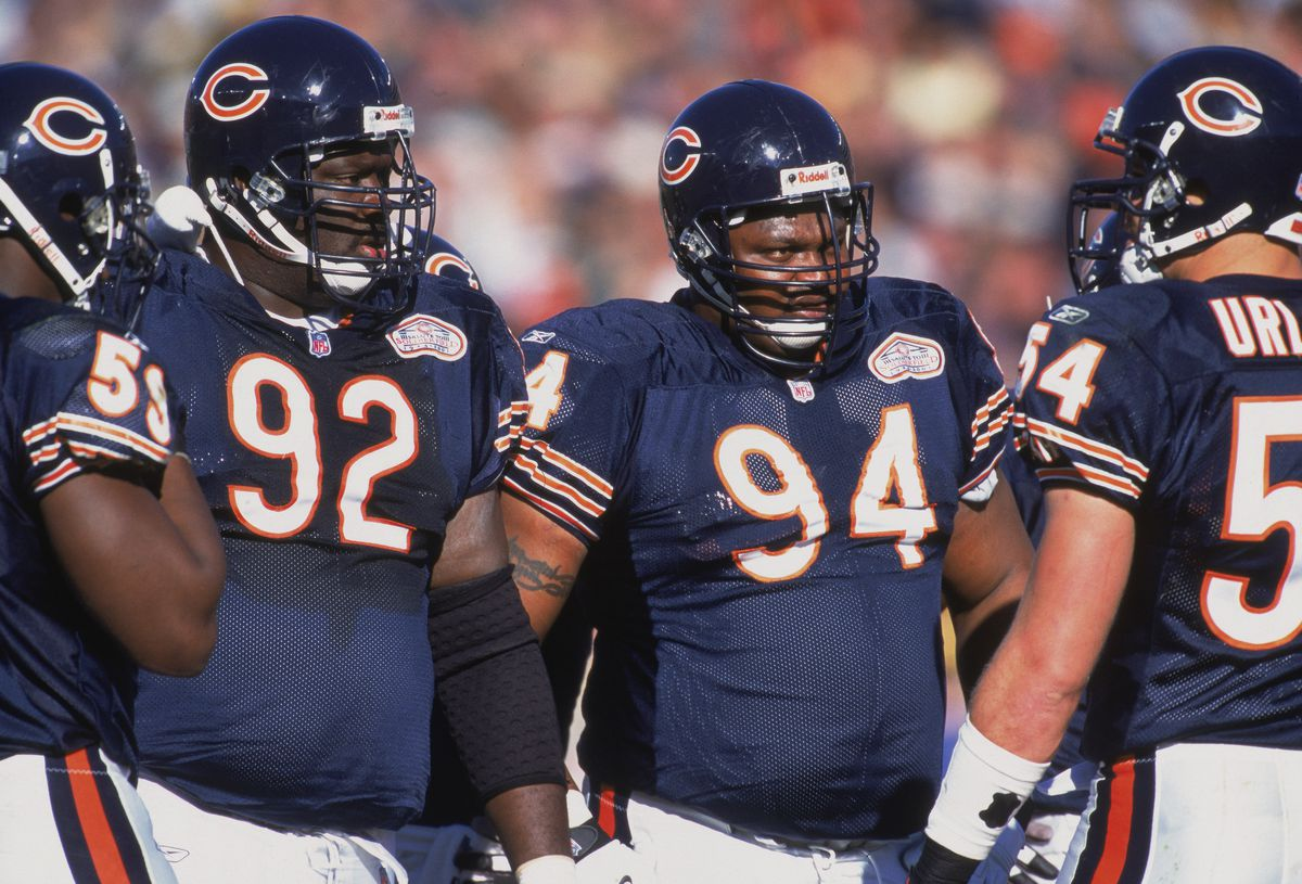 Defensive Tackle Keith Traylor #94 of the Chicago Bears