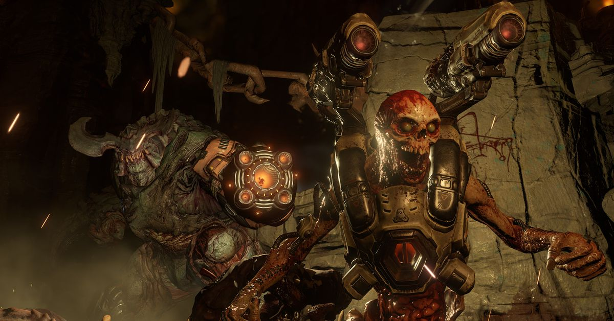 Doom gets motion controls on the Nintendo Switch