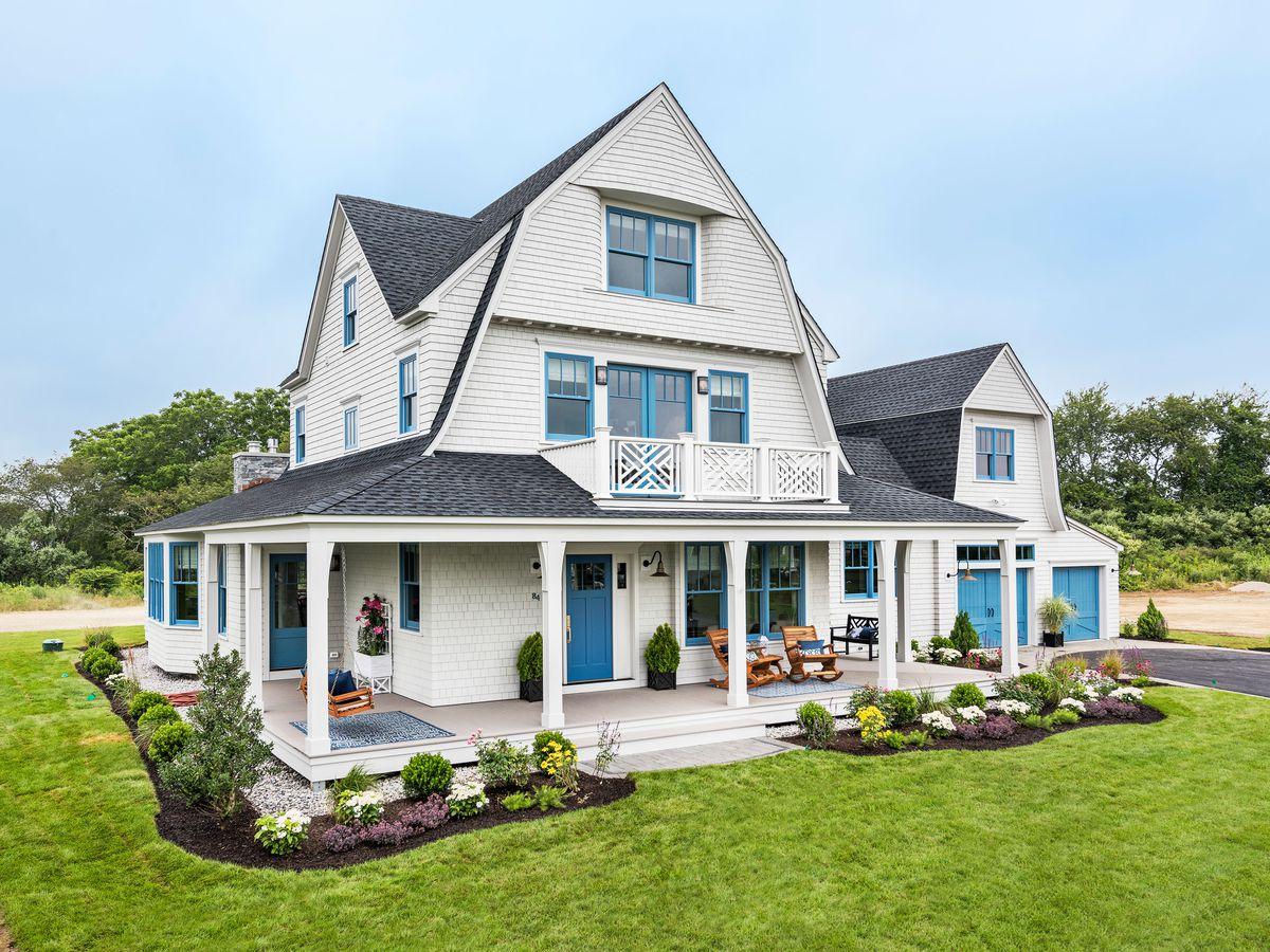 Rhode Island Beach House exterior