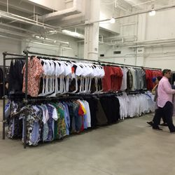 Men's tees and button-downs