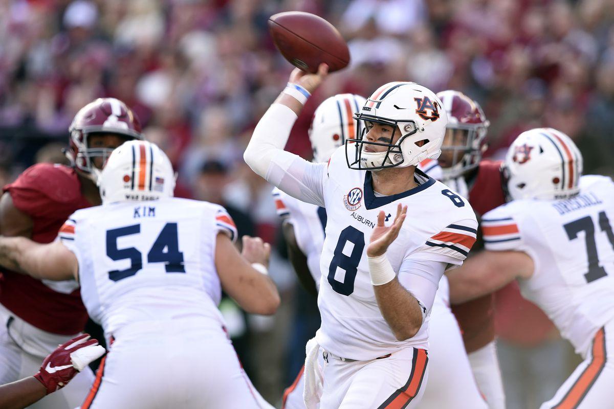 NCAA Football: Auburn at Alabama