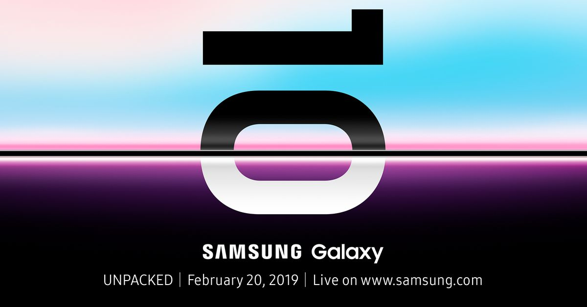Samsung galaxy unpackd 2019 official invitation 1920x1080