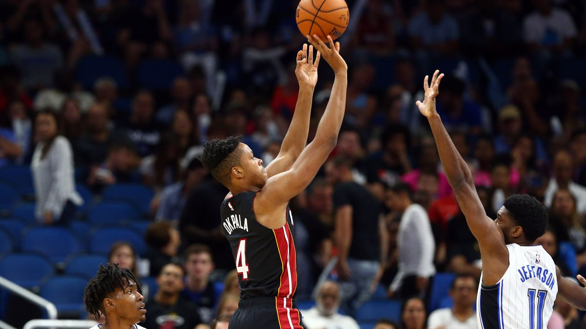NBA: Preseason-Miami Heat at Orlando Magic