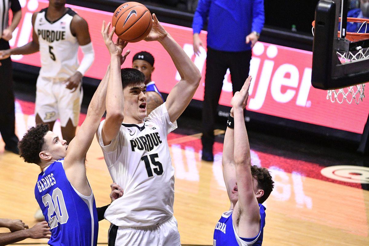 NCAA Basketball: Indiana State at Purdue
