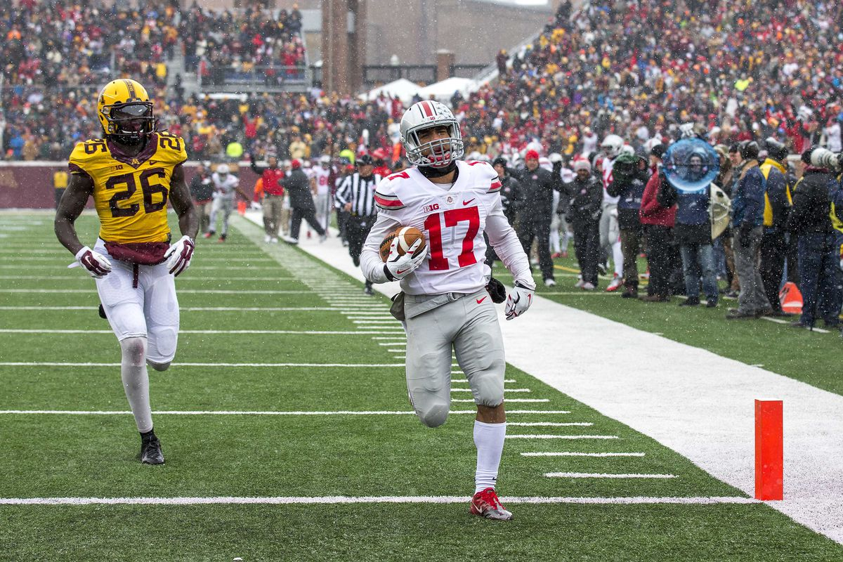 With the loss of J.T. Barrett, the Buckeyes will need a big effort from Jalin Marshall