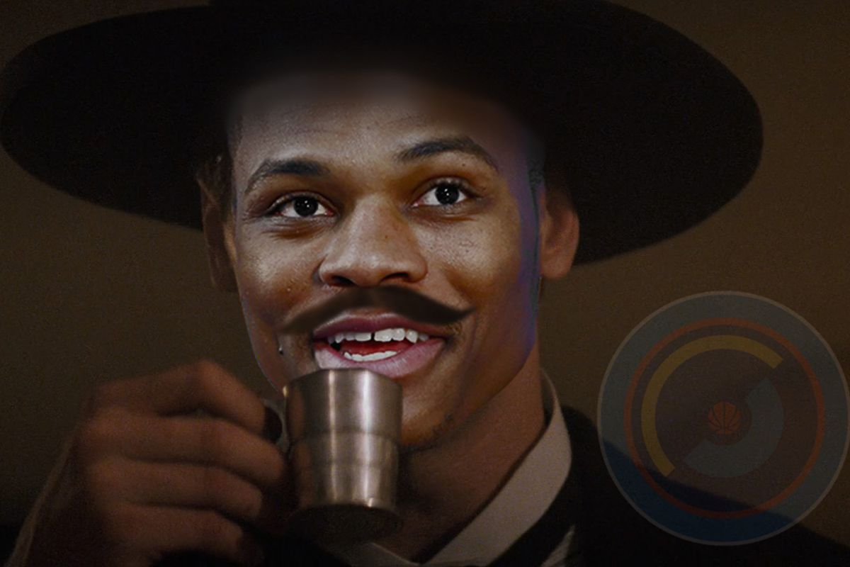 Yes, the entire Thunder team needs moustaches and cowboy hats.