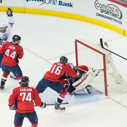 The Capitals Lose a Two Goal Lead Late
