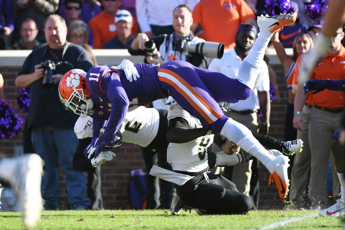 Clemson Tigers Topple Wofford Terriers 2nd Half Film Review