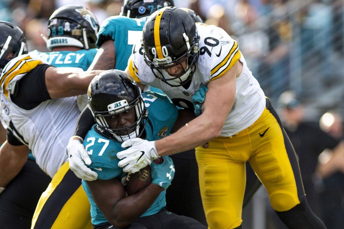 74ec0a3d1 T.J. Watt becomes first Steelers  linebacker to record 10 sacks in a season  since 2010