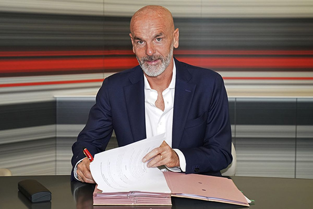 Official Ac Milan Announce Stefano Pioli As Their New Coach The Ac Milan Offside