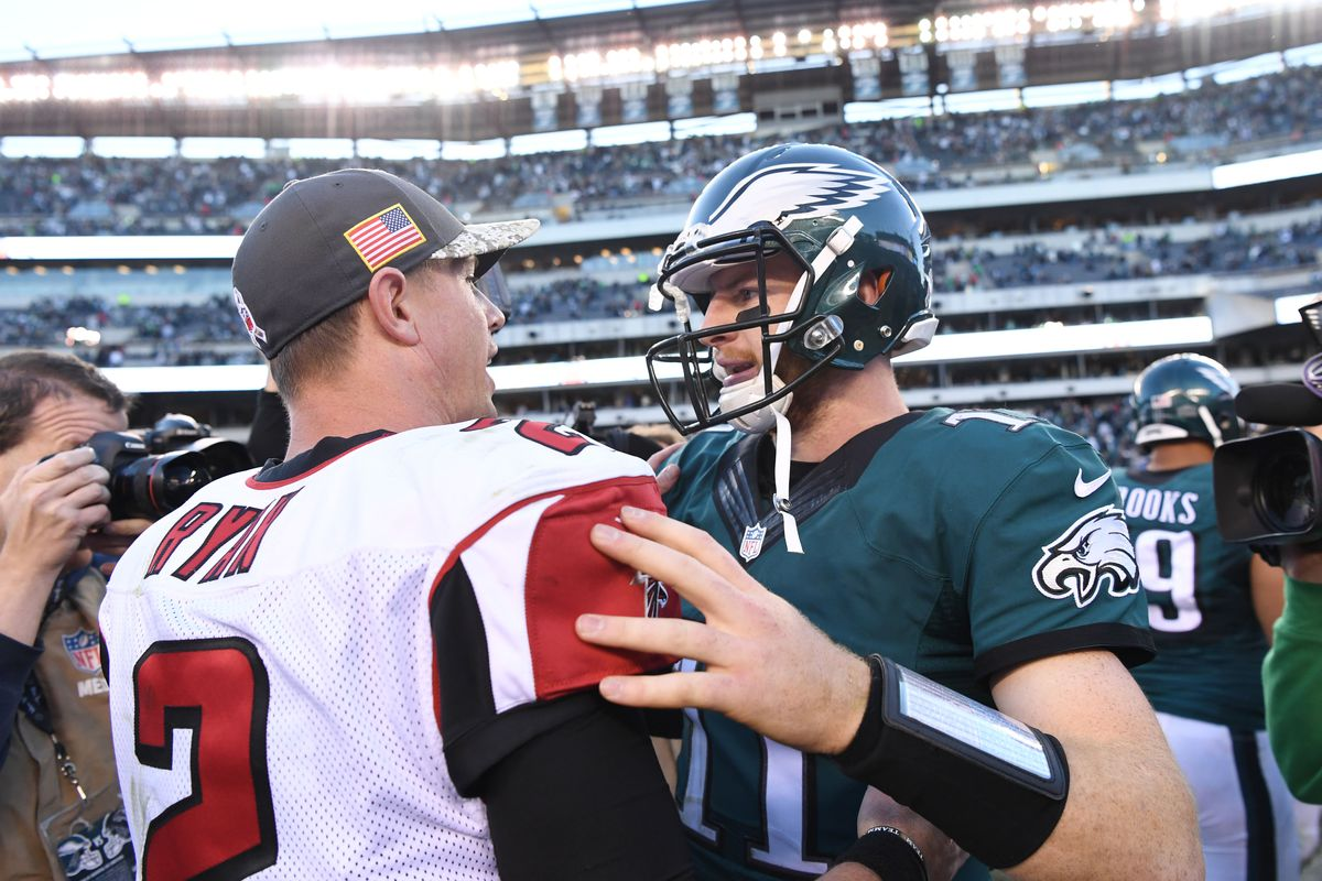 sports shoes 32af3 5aaeb NFL Odds: Eagles vs. Falcons in Week 2 has Philadelphia ...