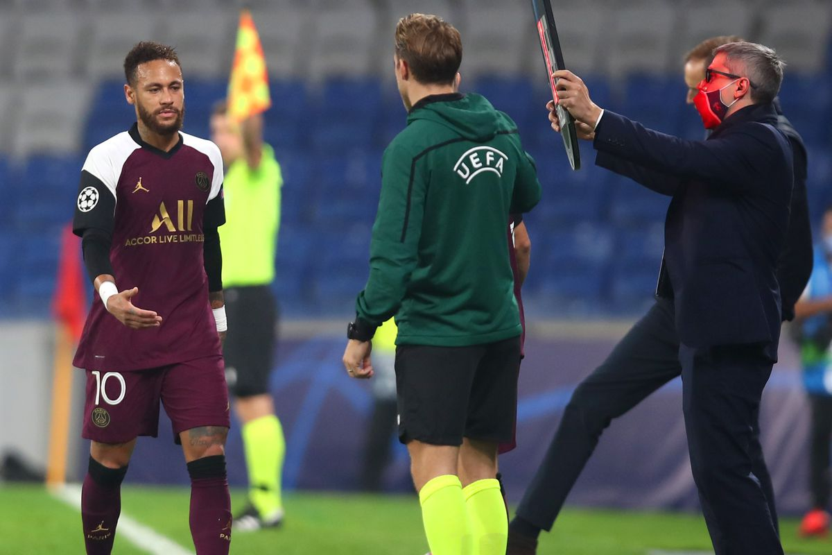 Neymar - Paris Saint-Germain: Group H - UEFA Champions League