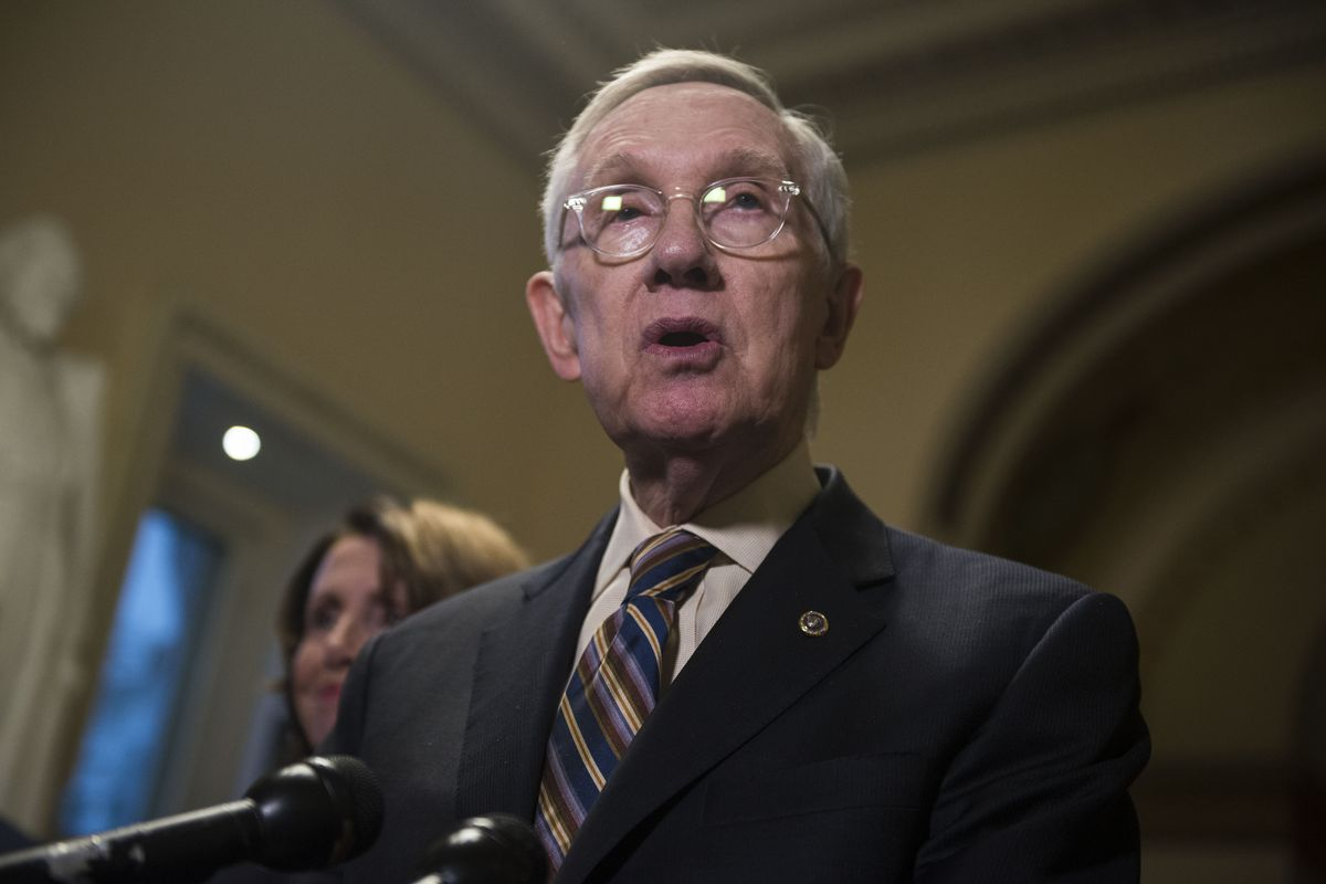 Reid And Pelosi Hold Press Availability On Bipartisan Budget Agreement