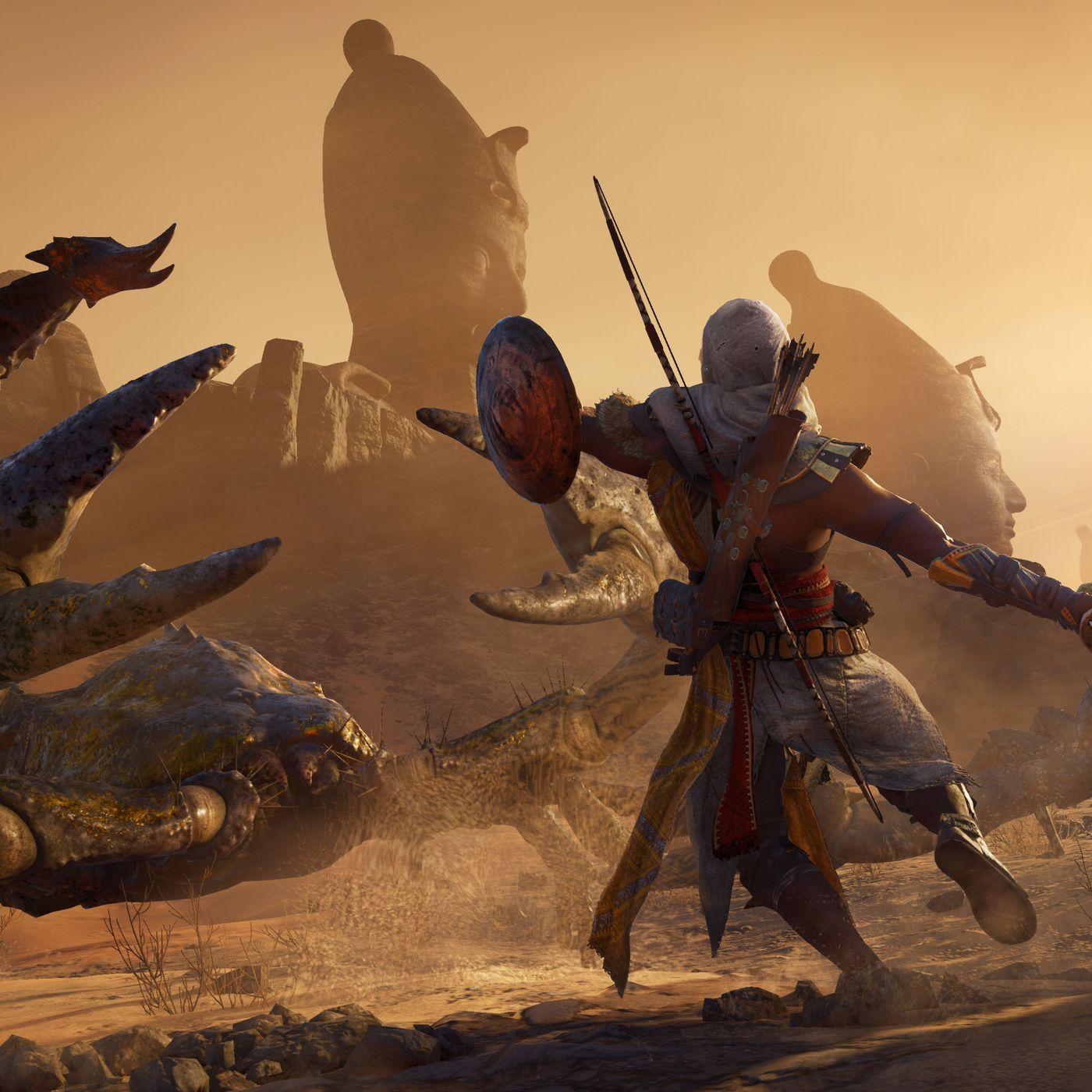 Assassins Creed Origins Wanderer Mounted /& Framed Print