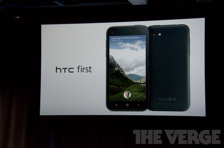 HTC and Facebook announce the First smartphone with AT&T ...