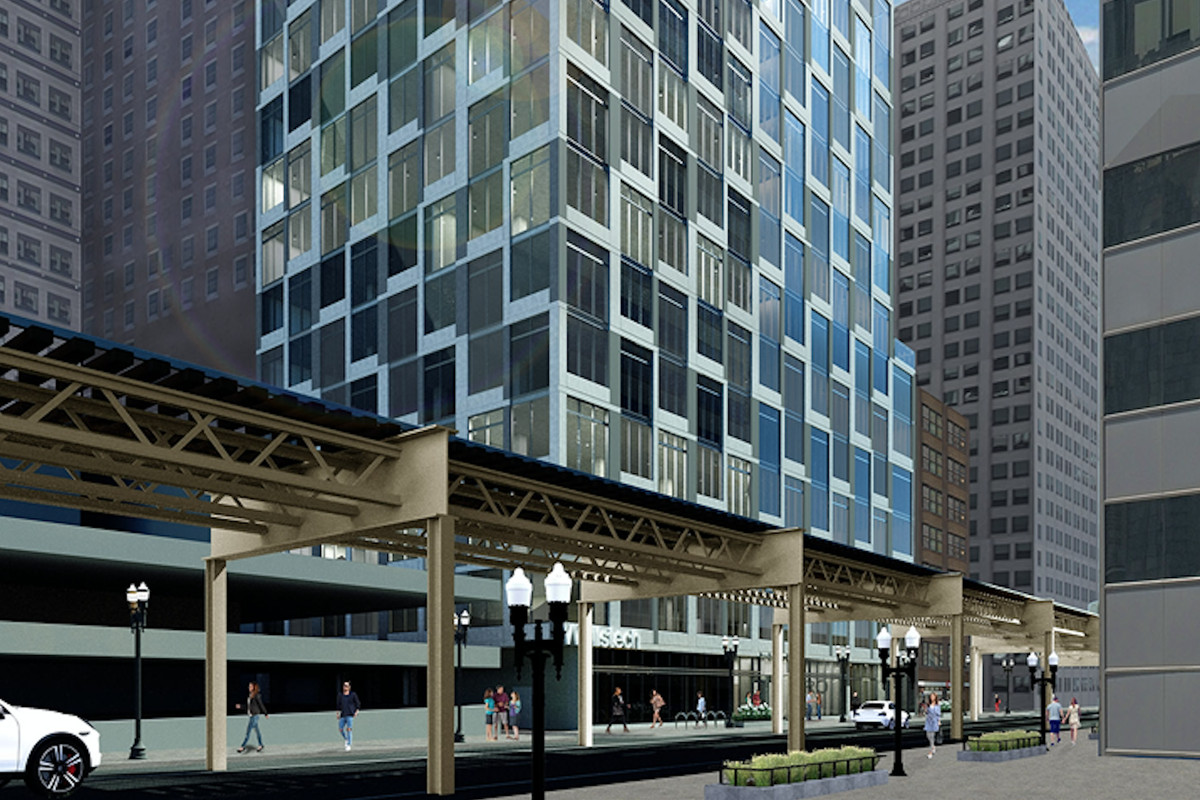 20 Story Boutique Office Project Could Replace Chicago