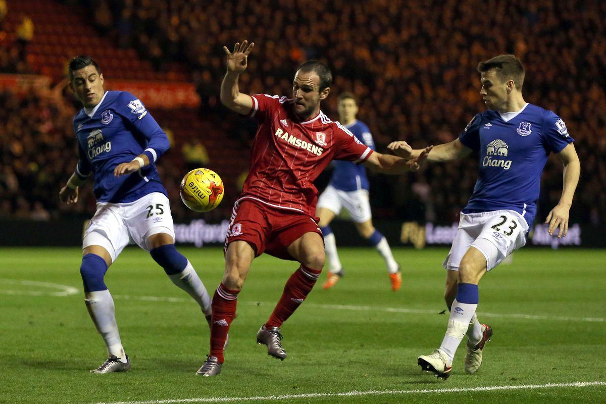 Middlesbrough v Everton - Capital One Cup Quarter Final