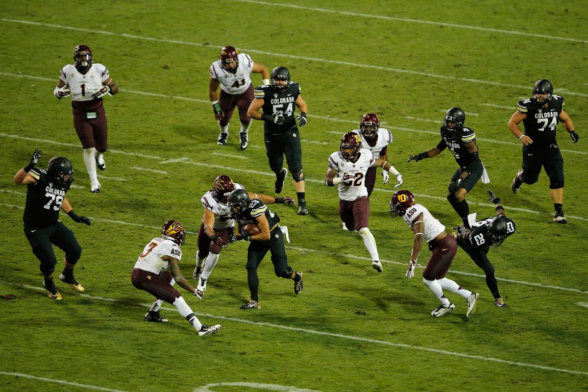 The Buffs will look to spring their tailbacks through to the second level against the Rainbow Warriors.