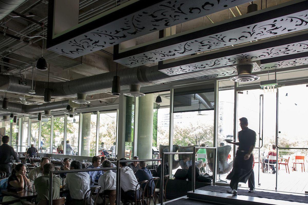 Bar Mirabeau in Austin.