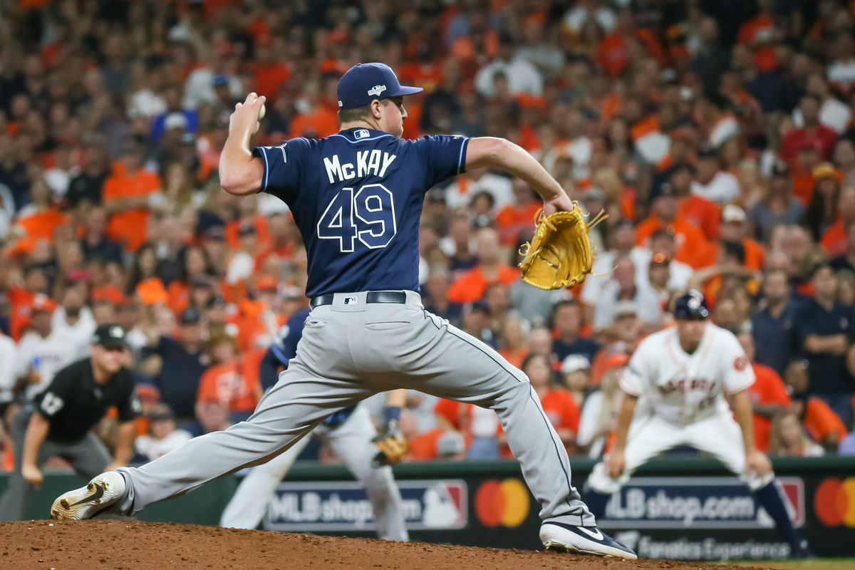 MLB: OCT 10 ALDS - Rays at Astros