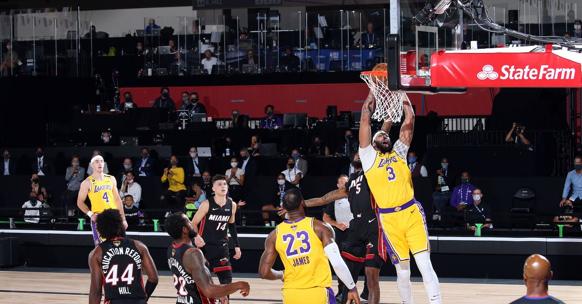 Lakers vs. Heat Final Score: L.A. too hot to handle in ...