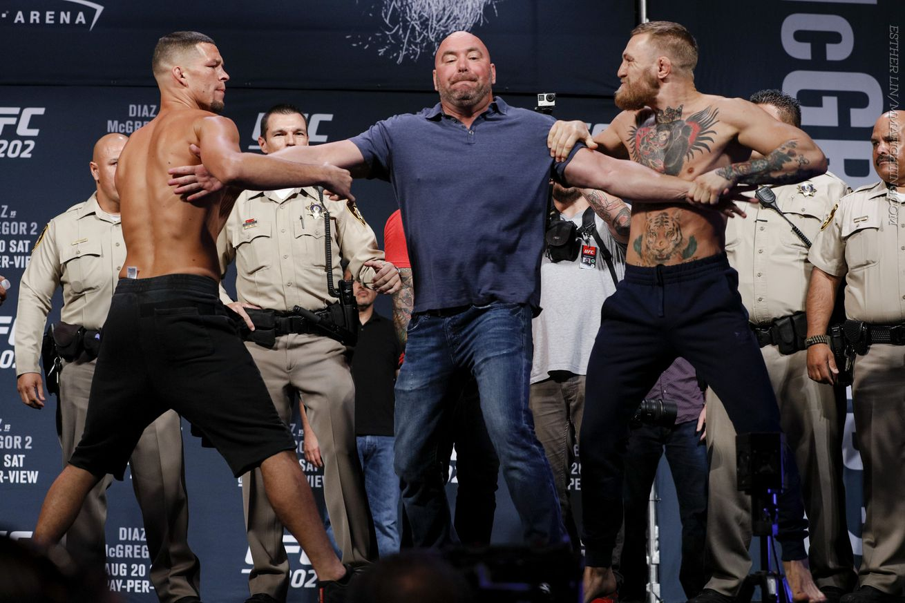 Nate Diaz and Conor McGregor look to settle the score at UFC 202 on Saturday night.
