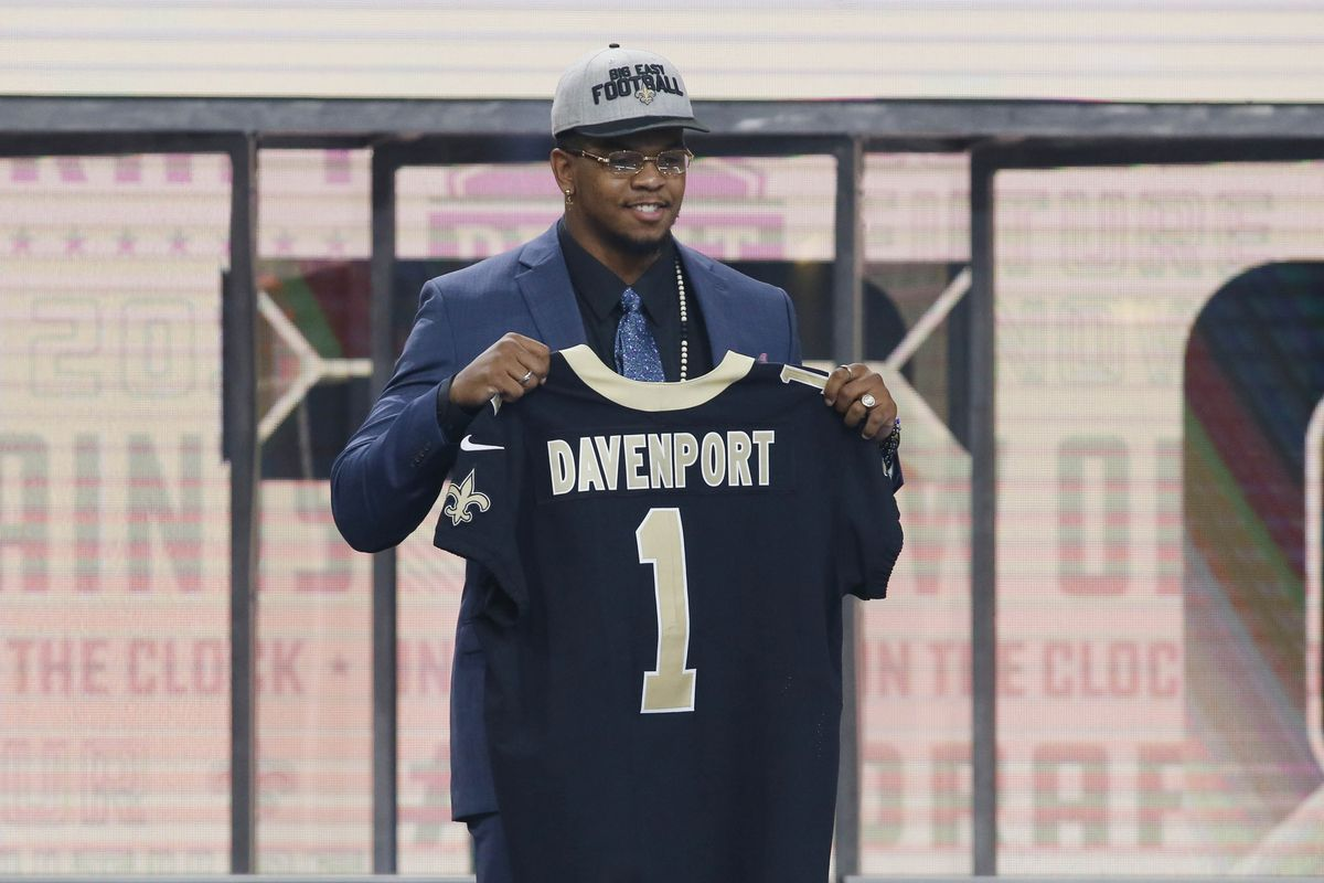 the best attitude 89777 dfeac Selection of Marcus Davenport a Controversial Pick for New ...