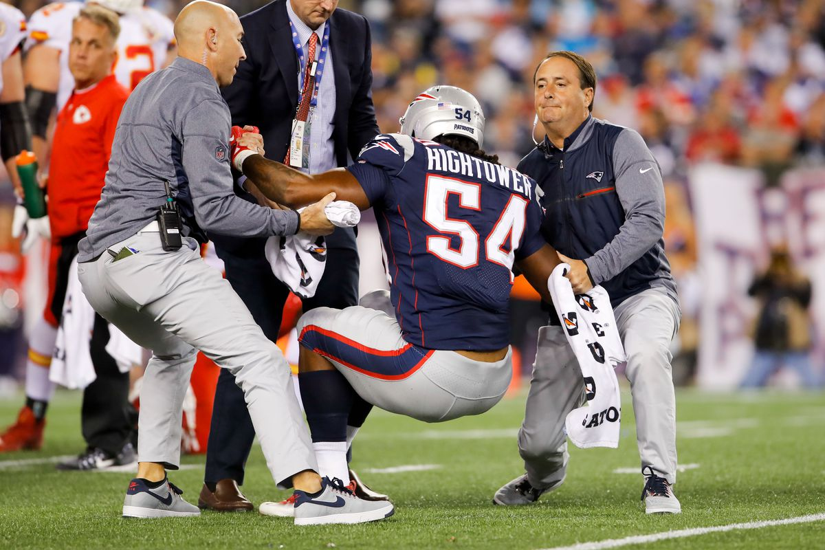Injury update Patriots LB Dont a Hightower out for the season