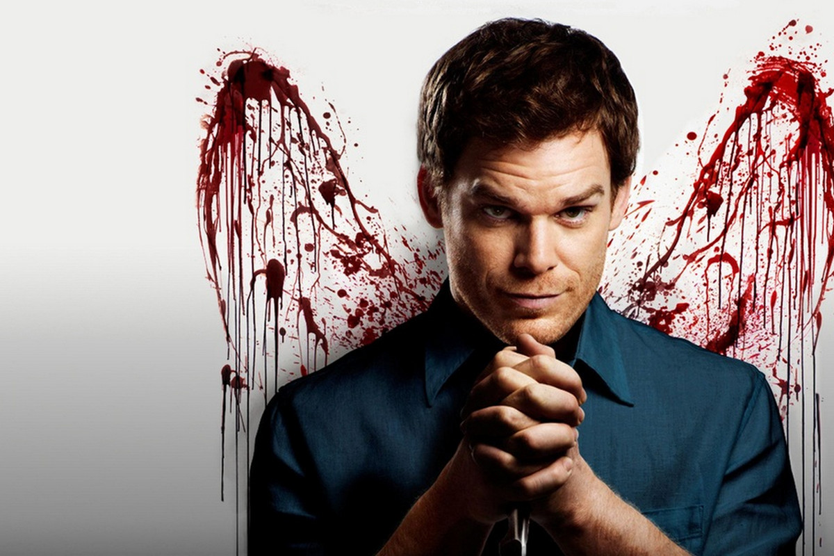 Dexter, one of the most famous psychopaths on TV.