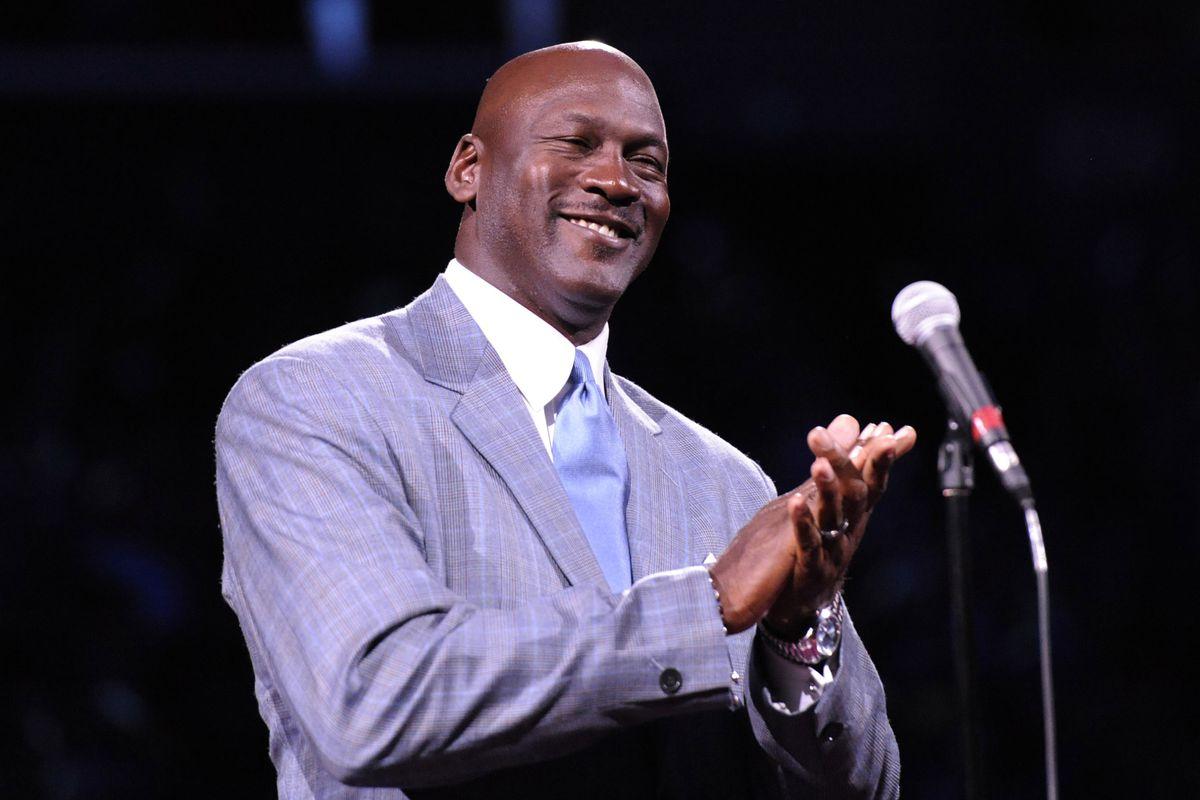 Michael Jordan, owner of the Charlotte Hornets