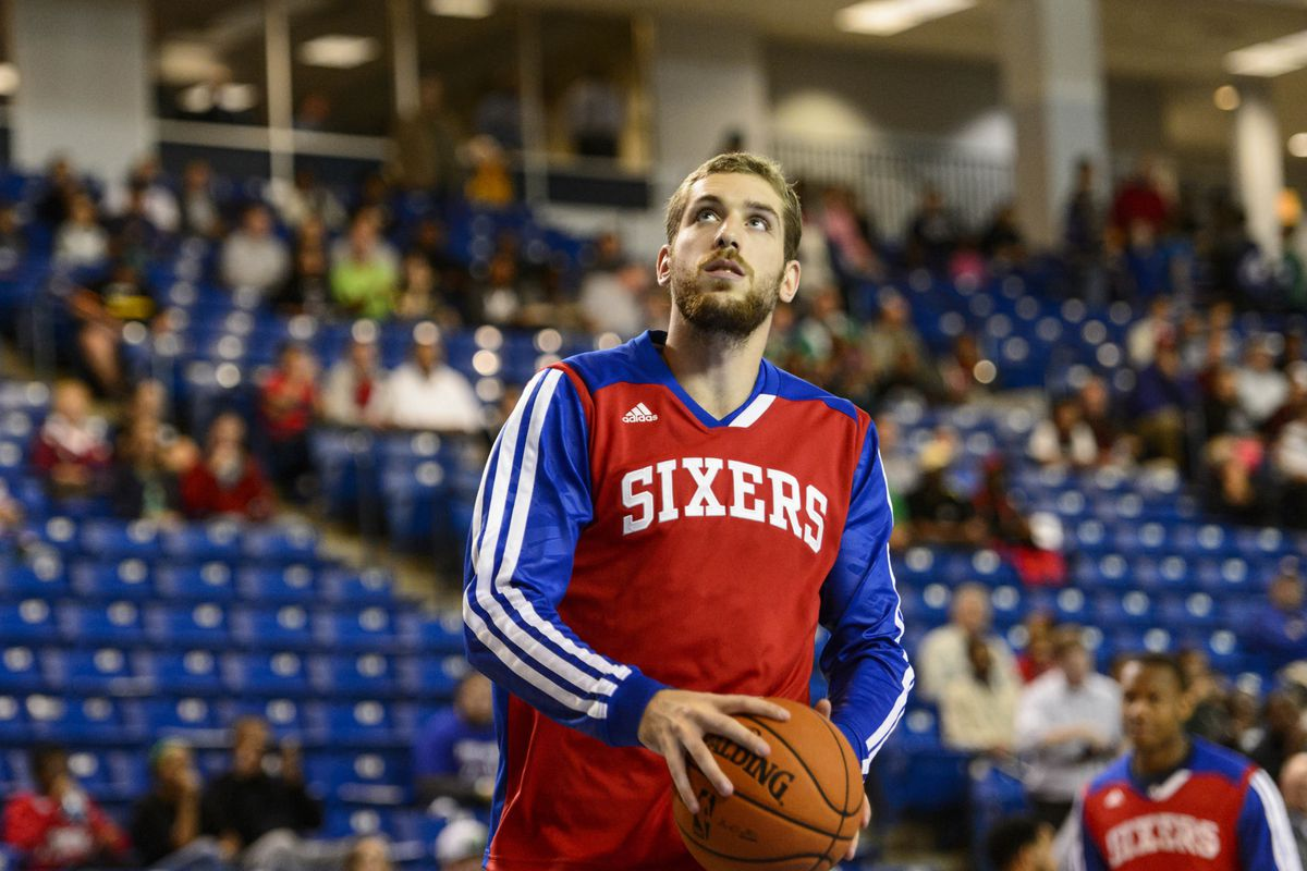 Tim Ohlbrecht, a former NBA player currently playing overseas, broke into the D-League via the open tryout process.