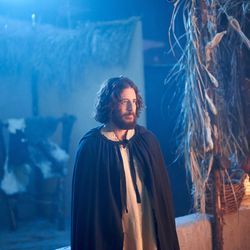 """Jesus Christ (Jonathan Roumie) films a scene for """"The Chosen."""""""
