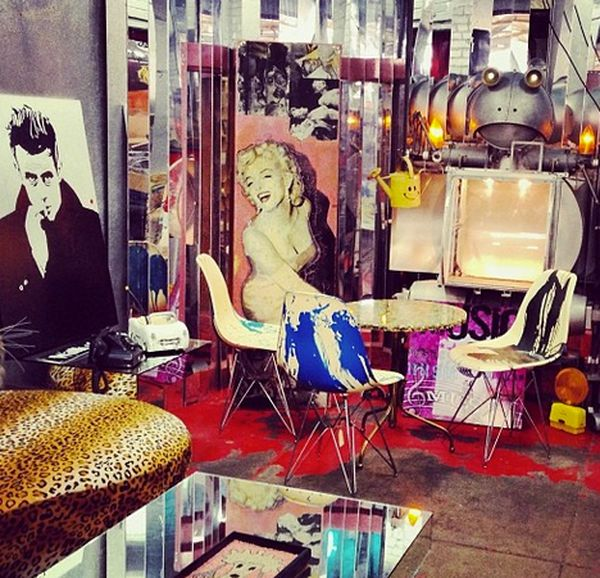 Filled With Vintage Treasures And Cool Oddities To Make Any Decor Fiend S Heart Flutter This District La Brea Furniture Trove Is Not For The