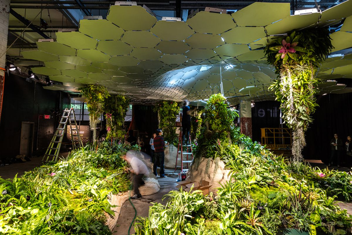 Lowline Lab Offers a Glimpse of NYC's First Underground Park