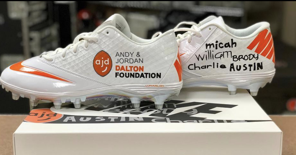 Cleats Bengals players will wear for My Cause, My Cleats in