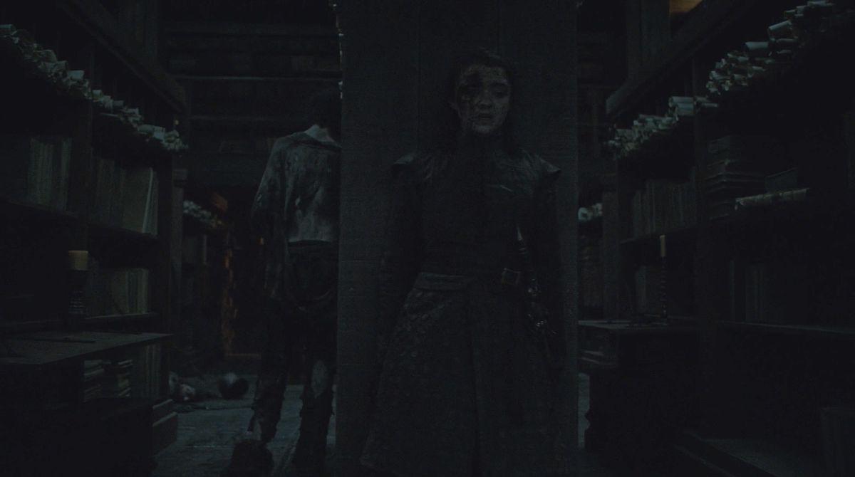 Game of Thrones S08E03 Furtivité d'Arya